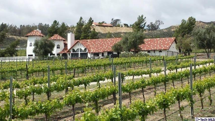 Original Keyways Winery Estate Home