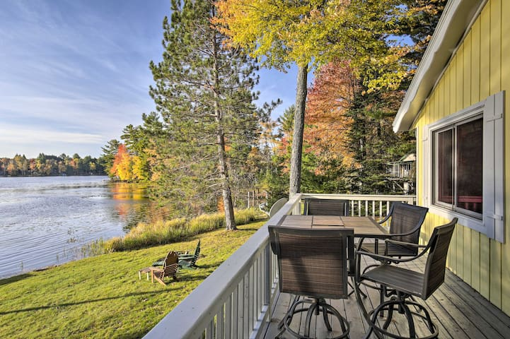 NEW-Updated Eagle River Home w/Private Dock, Views