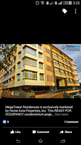Fully furnished studio type condo 2 @ Megatower
