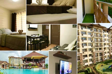 OneOasis 2BR Condo-Wifi • PS4 • Movies