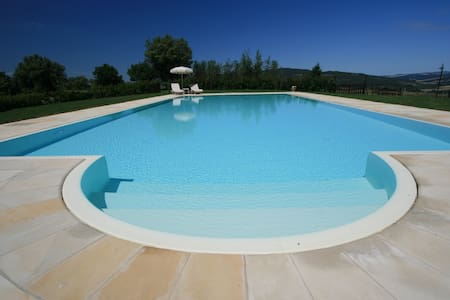 Lovely cottage with pool situated in Siena area - Casole d'Elsa - Dom