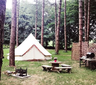 Queenie Bell Tent at Happy Valley Norfolk - Grimston
