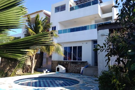 Casa de Playa/Hospedaje - Villas de Santa Verónica