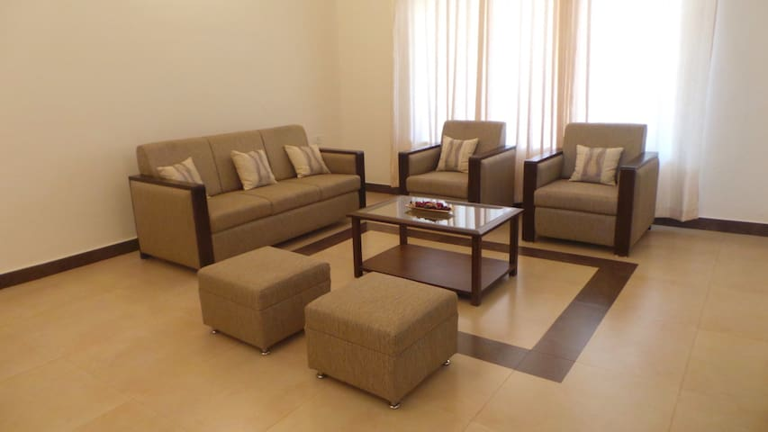 ParkWalfredoGoa. Beach side 1 Bedroom Apartment.