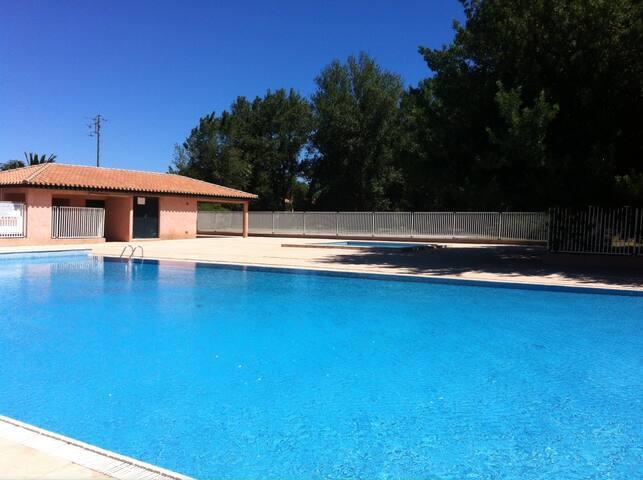 Appartement en Résidence avec piscine