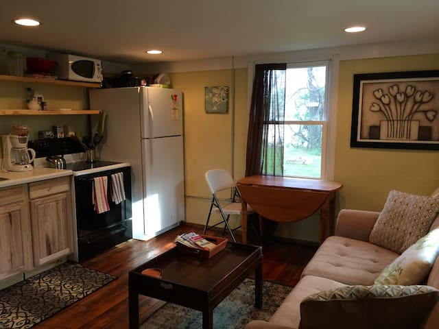 Cozy Apt in N. Avl- Close to all!  - Asheville - Apartamento