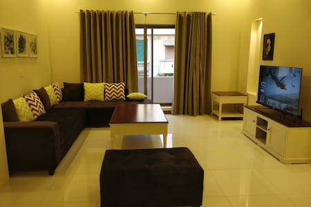 Contemporary 2BHK brand new designers unit.