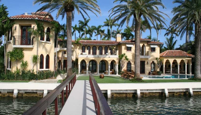 6 bd, waterside views, deck - Miami - Villa