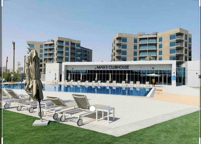 New Luxury 2 Bedroom APT Dubai, WIFI + NETFLIX