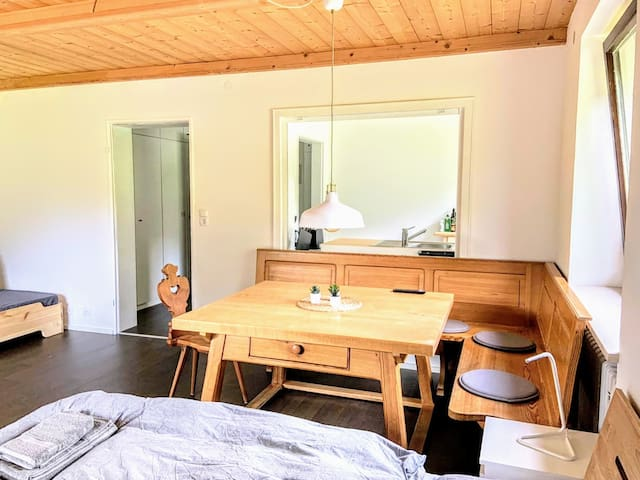 Studio #2 im Chiemgau - mit Morgensonne & Sauna!