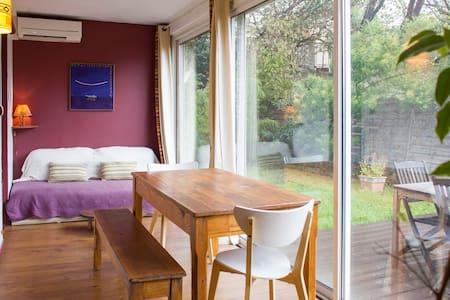 Chambre cosy dans un charmant rez de jardin - 馬賽