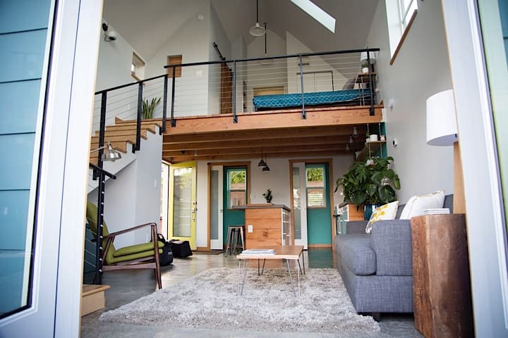 Bright, Modern Loft in North PDX - Portland - House