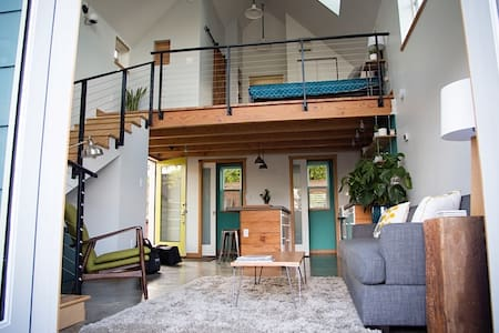 Bright, Modern Loft in North PDX - Portland - Talo