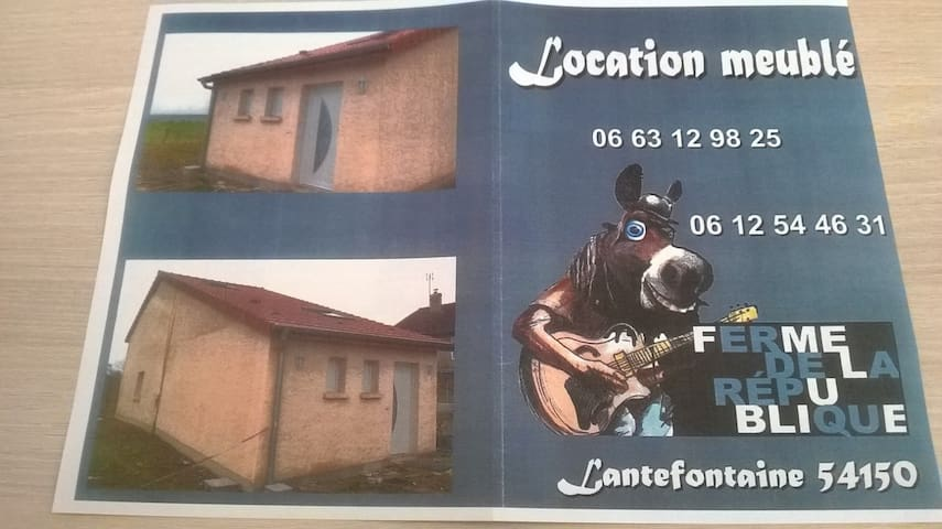 en pleine campagne  maison neuve - Lantéfontaine