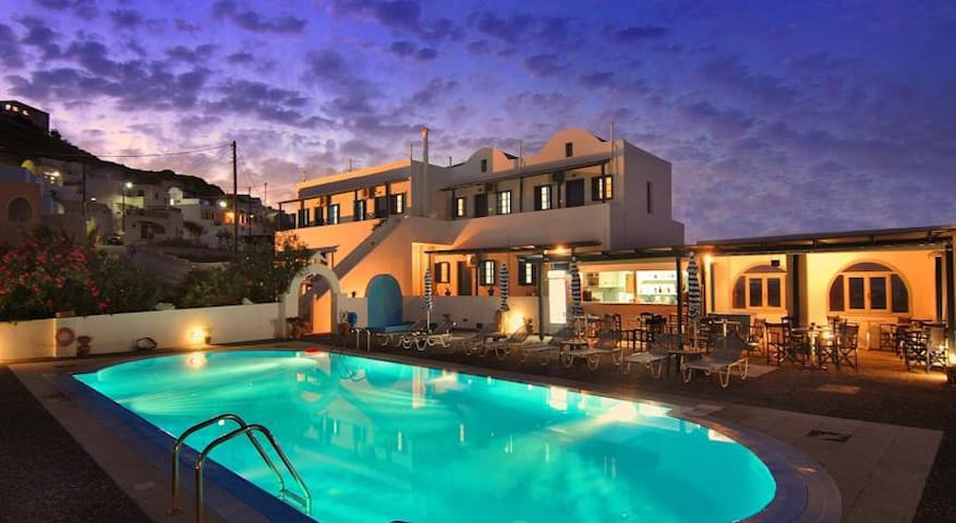 Akrotiri D htl dbl room - Akrotiri - Apartment