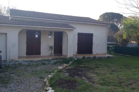 jolie maison à 8mn de Montpellier - Baillargues