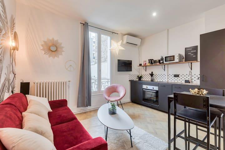 ♥ Cozy studio near the Arc de Triomphe - 2P