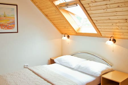 Cozy attic room with roof window - Plitvička Jezera - 住宿加早餐