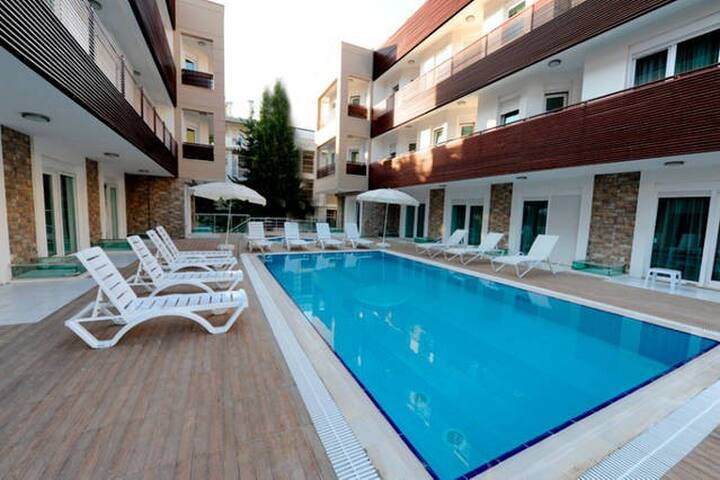 Studio apartment by the sea. - Antalya