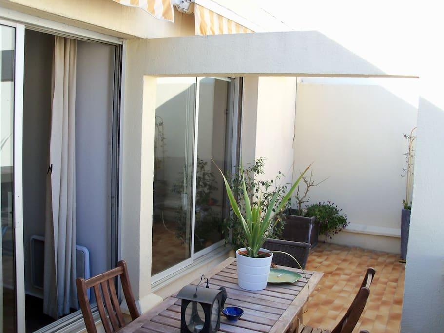 Terrasse de 13m2