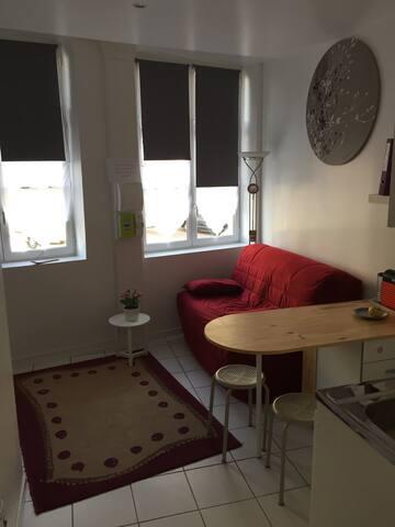 Studio dans le centre d'Auxerre