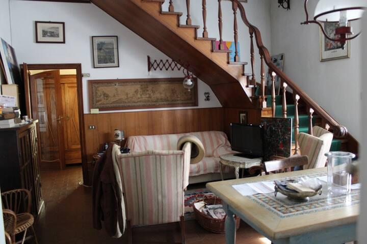 Il salotto/cucina