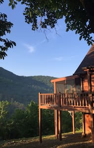 Whiskey Barrel Lodge - Murphy - Cabana