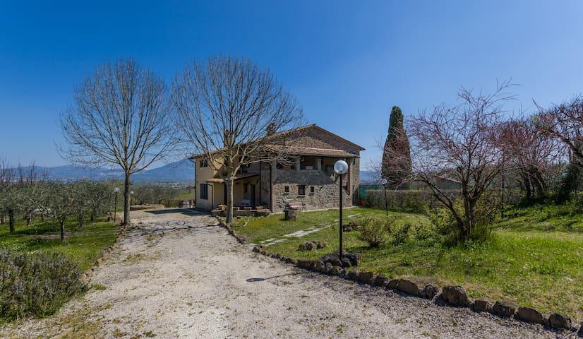 Casale San Quirico - Bettona Umbria - Bettona - บ้าน