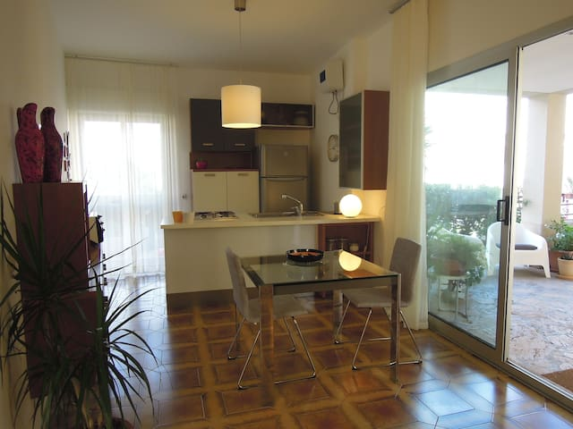 Appartment in residence with beach - Augusta - Pis