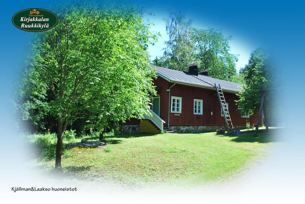 Kjällman&Laakso huoneisto / The apartmets Kjällman&Laakso