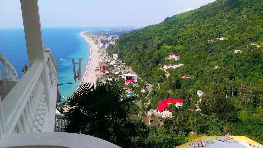 Отдых на Море Грузии HOTEL ZURA - Kvariati - Bed & Breakfast