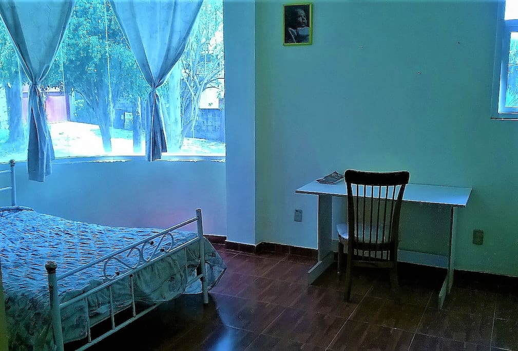 A simple, private and spacious room