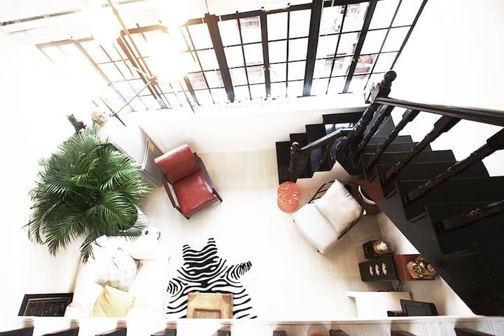 后窗 • 巨鹿路loft神奇阁楼 - Shanghai - Loft