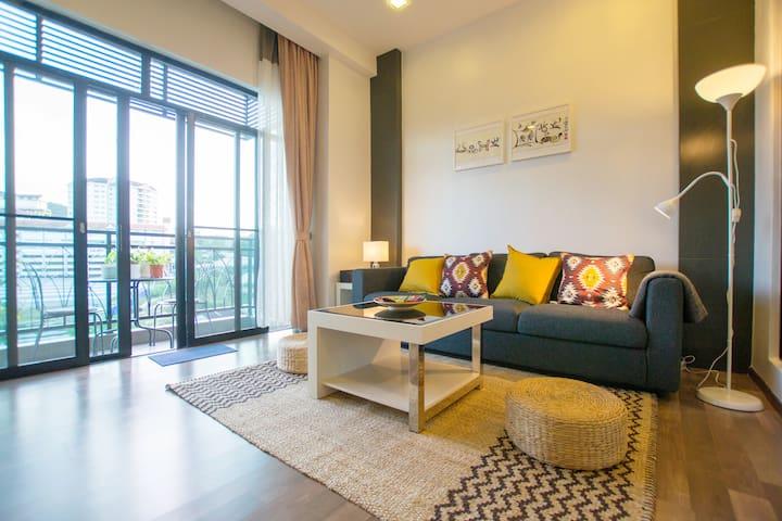 Serene Living Room Design
