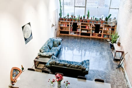 'The Warehouse' designer apartment