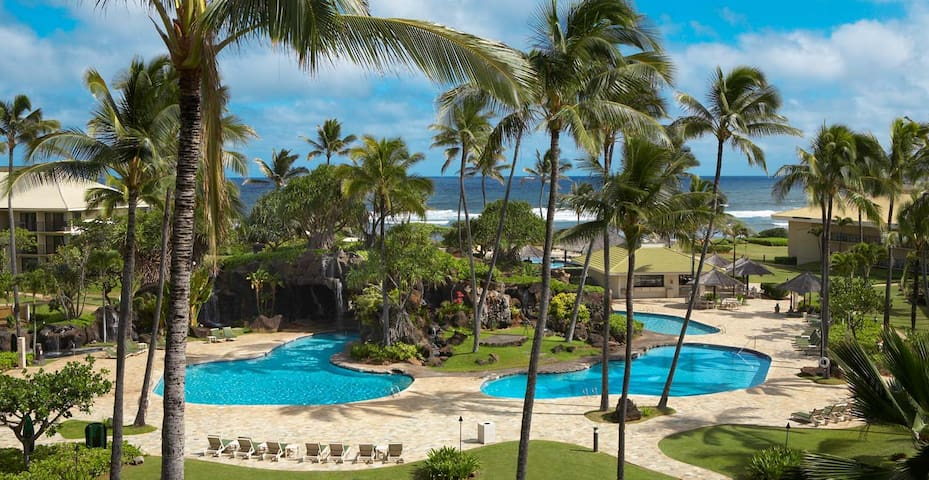 Fall special$95, Kauai Beach Resort - Oceanfront - Līhuʻe