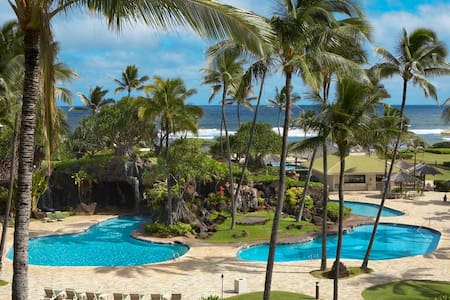 Fall special$95, Kauai Beach Resort - Oceanfront - Līhuʻe - Lejlighed