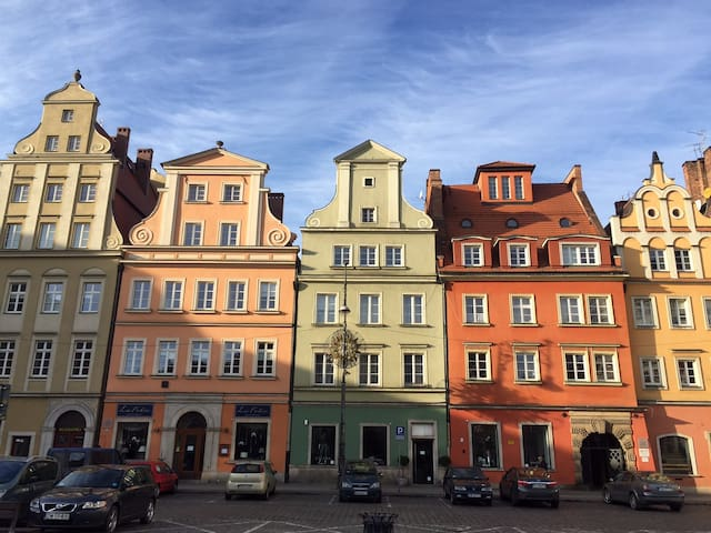 Wroclaw, Plac Solny - Wrocław - Apartment