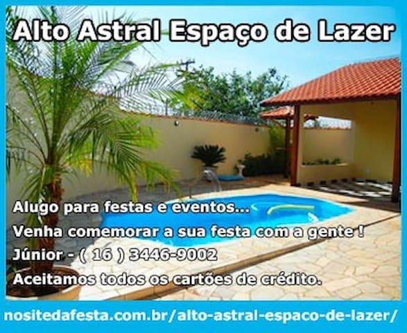 Casa com piscina e churrasqueira - Ribeirão Preto - Casa