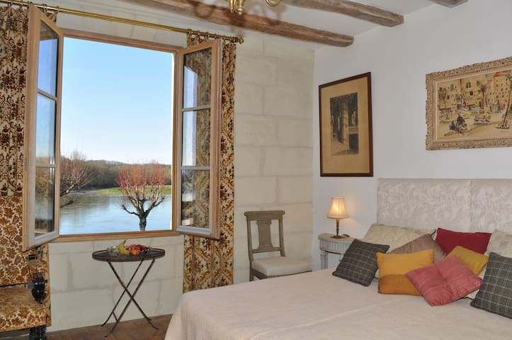 View of the Loire - Loire Valley - Bréhémont - Apartment