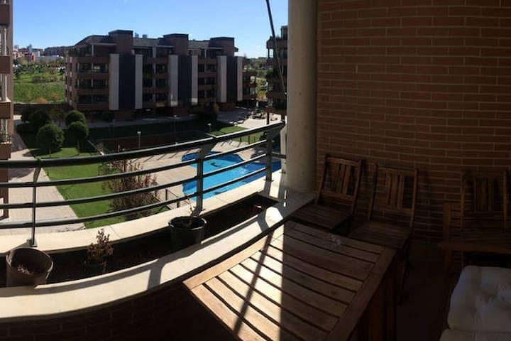 Habitación2 Jaime E.Nebot del Valle - Madrid - Apartmen