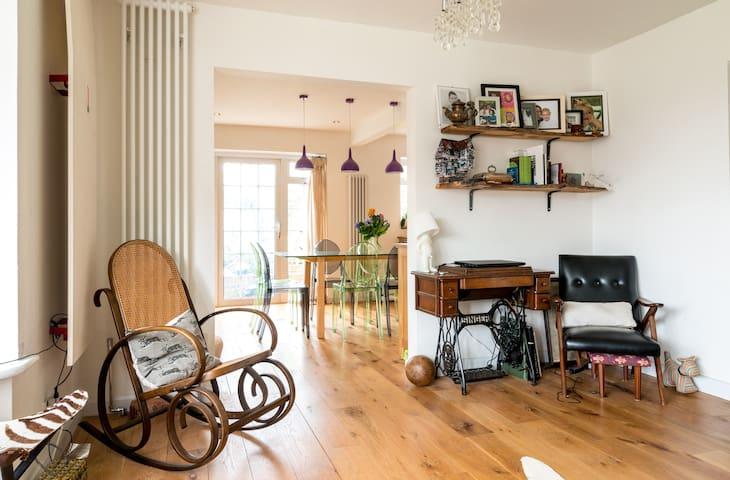 Stunning Family Home, Sunny Garden - Hove - Casa