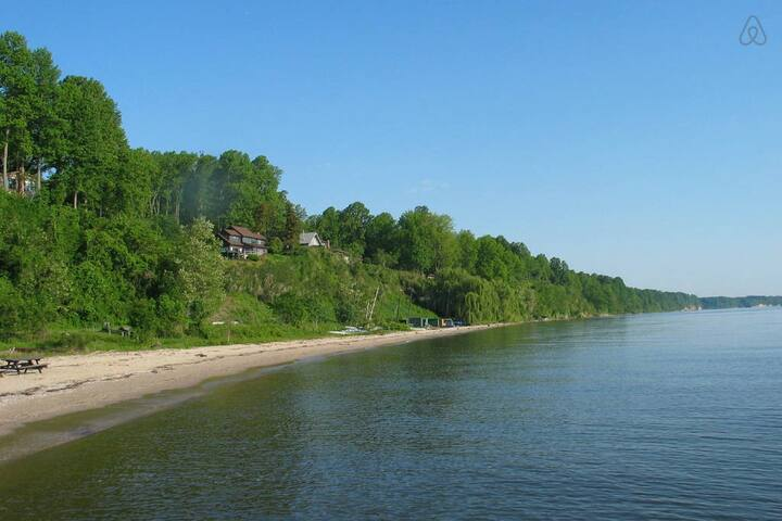 Sailing Option Beach Apt 1hr fr DC - Port Republic - Zomerhuis/Cottage