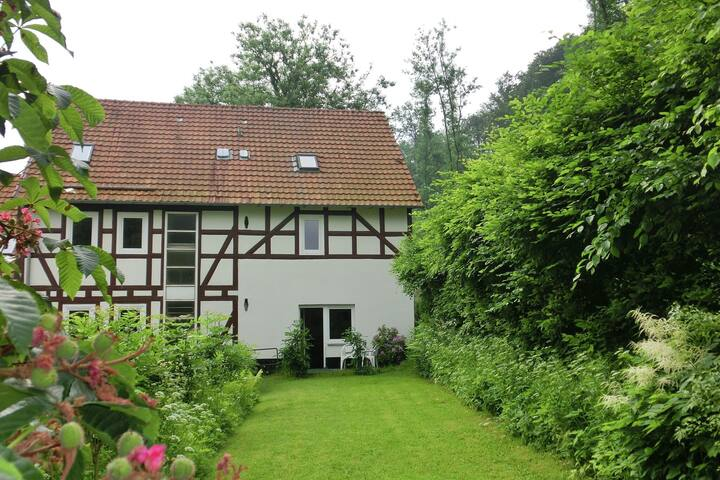 Tranquil Apartment in Falkenstein with Balcony