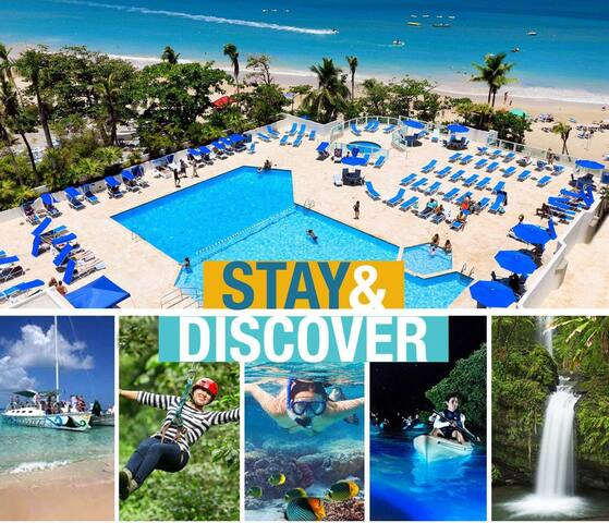 Pool, Beach and Attractions