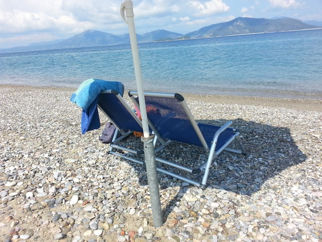 Euboea EVIA grece Village,thermalisme en  mer Egée - Edipsos  - 一軒家