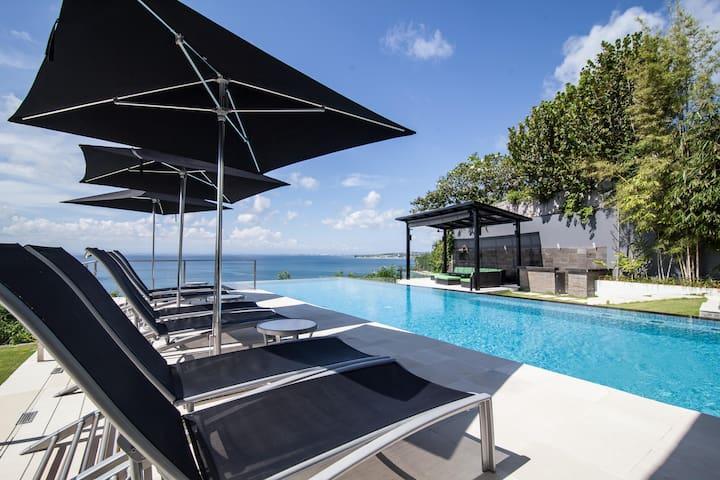 Oceanfront  Suluban Cliff Bali Villa Clifftop - Bali, Indonésia - Casa de campo
