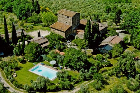 Fairy House with Pool, Chianti Area