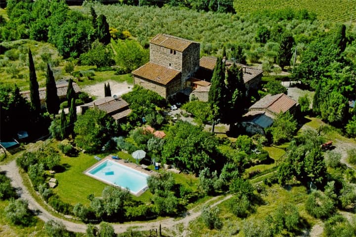 Fairy House with Pool in Chianti Area