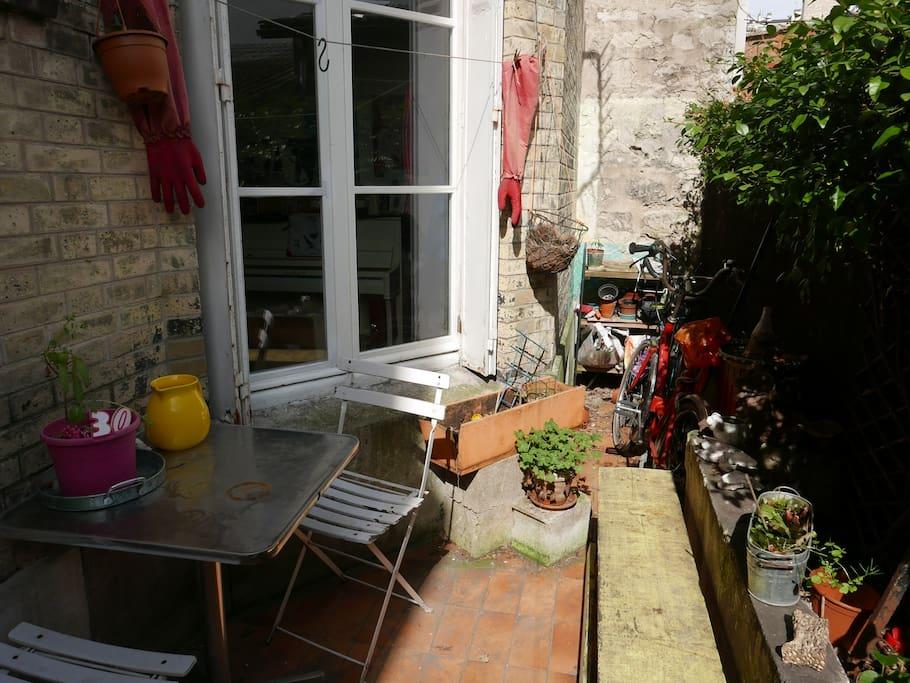 Rez de chauss e campagne paris apartments for rent in paris le de fra - Rez de chaussee paris ...